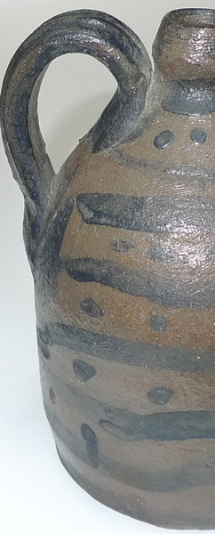 Detail of decorated jug 1. ai24a.