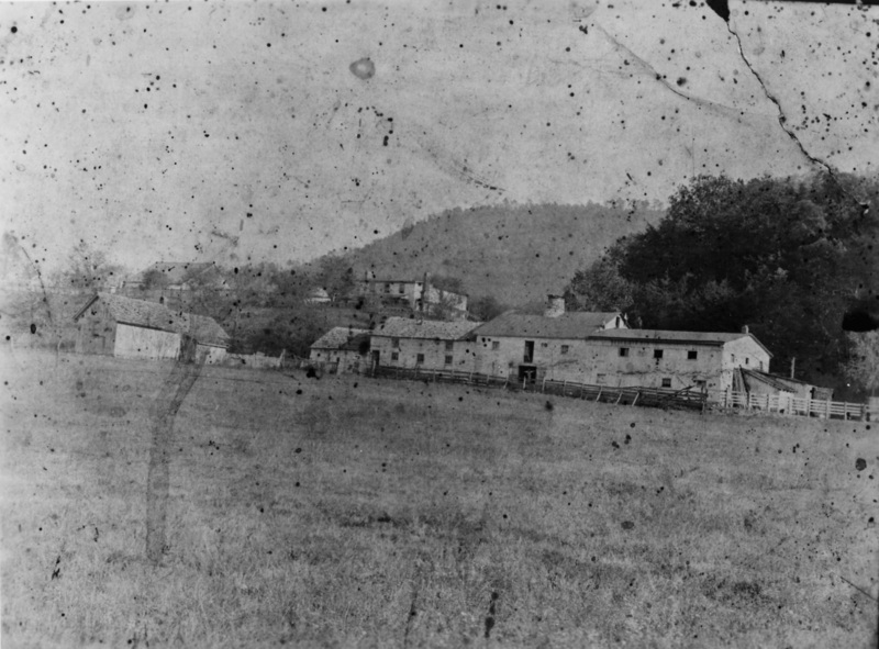 Another view of the Decker property c 1895. Burbage17.