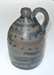 Small jug decorated with cobalt dots and lines. ai24.