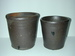 Pair of Decker flower pots which descended in the family. ai36.